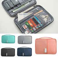 Portefeuille de voyage porte-passeport familial organisateur de porte-documents imperméable créatif
