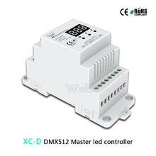 Multi-function DMX512 Master controller;AC85-265V input;DMX512 signal output;Multi-Pixel RGB/RGB+W/RGB+CCT controller