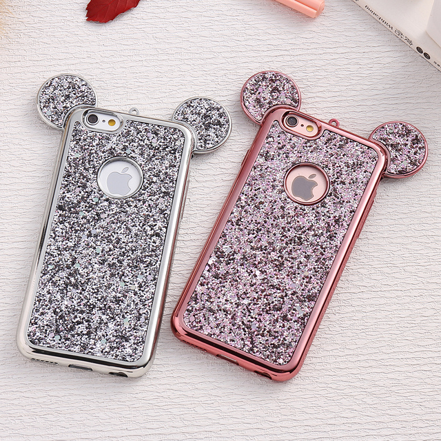 Mickey Ears Cover Phone Case for iPhone / Samsung