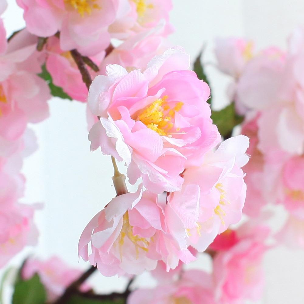 INDIGO 5pcs/Lot Cherry Blossom Peach Flower Artificial Wedding ...
