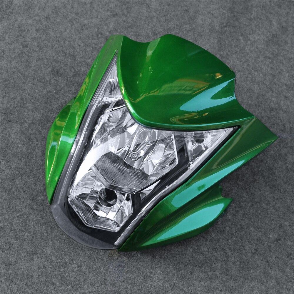 Headlight Assembly Headlamp Light House Fit For Kawasaki ER6N 2012-2016 13 14 15 MotorcycleHeadlight Assembly Headlamp Light House Fit For Kawasaki ER6N 2012-2016 13 14 15 Motorcycle