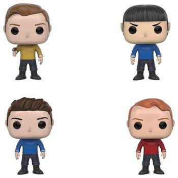 Funko pop Official TV: Star Trek Beyond - Kirk, Chekov, Sulu, Spock, Bones Vinyl Figure Collectible Model Toy with Original Box caterham 7 csr