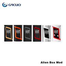 Original Smok Alien Kit with 3ml TFV8 Baby Tank and Alien 220W Box Mod Electronic Cigarette Vape Kit 18650 battery not include