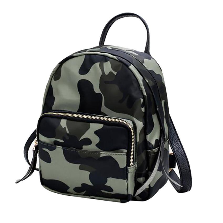 Detail Feedback Questions about Backpack Women Camouflage Nylon Waterproof  Mini Shoulder Backpacks Women Casual Daypack Backpacks Travel Designer ... ae990af631440