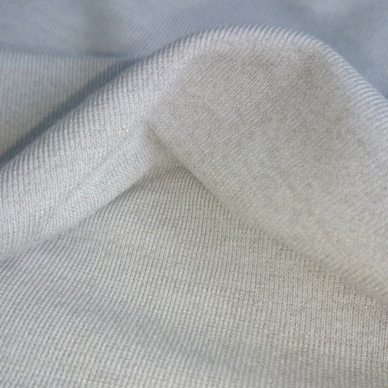 Anti Bacterial Silver Fiber Fabric For Hoodies Bamboo