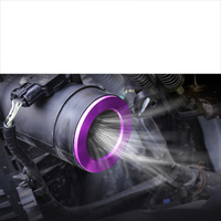 lsrtw2017 aluminum alloy car engine air inlet Pressurized ring for subaru xv forester outback legacy 2013 2019