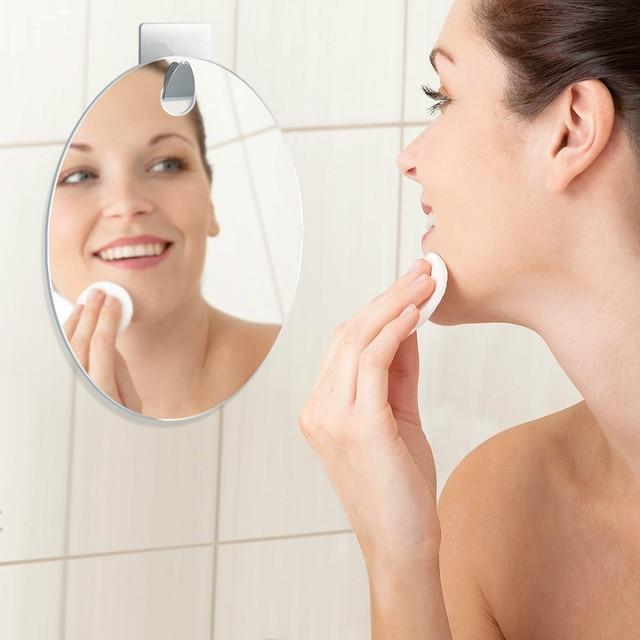 Fogless Shaving Shower Mirror HIGHEST RATED Incl Hook Bathroom Anti Fog