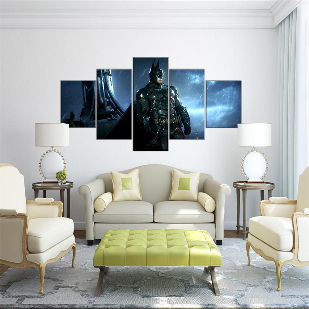 Lukisan Simple Batman Kanvas 6