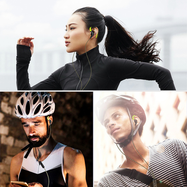 Super Bass Running Headphones – Sweat-proof With Mic 5