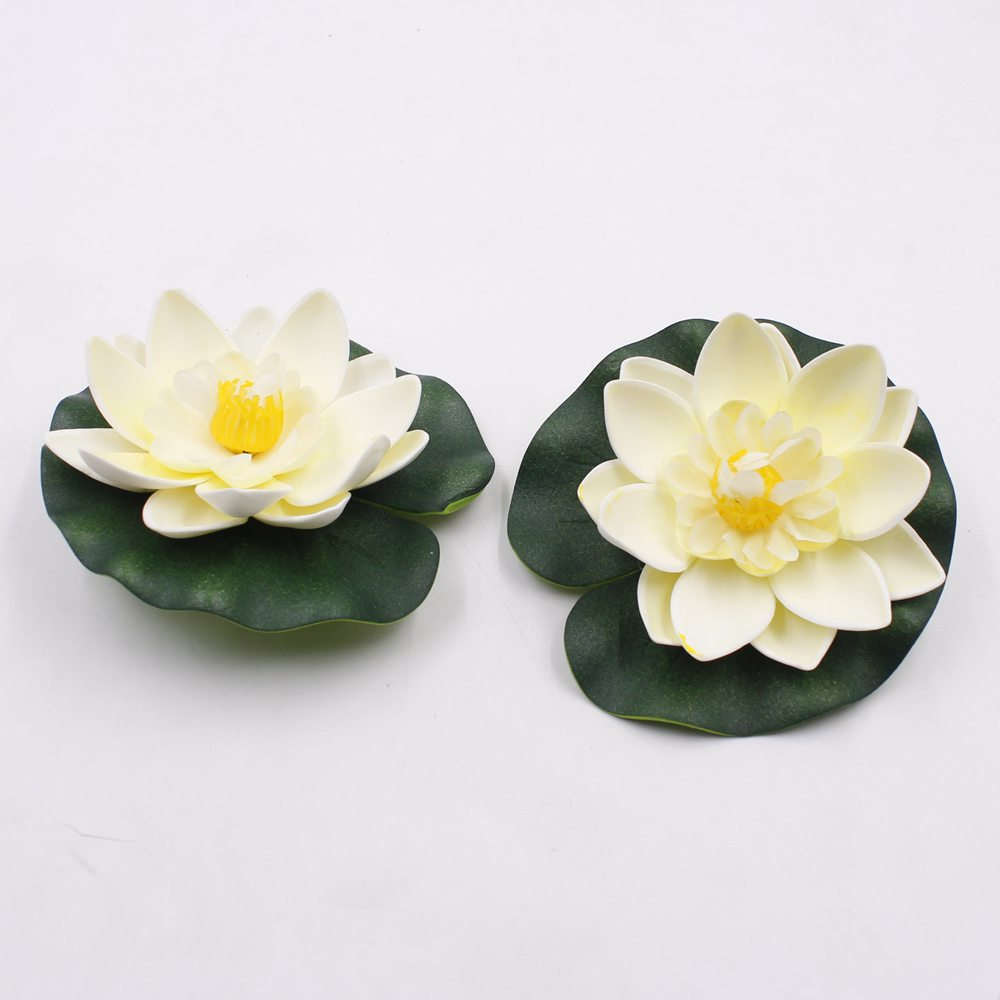 10 pcs 10 cm real touch lotus flower artificial foam lotus flowers 10 pcs 10 cm real touch lotus flower artificial foam lotus flowers floating water lily pool plants wedding garden decoration in artificial dried flowers izmirmasajfo Image collections