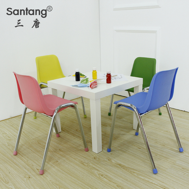 Three Tang Patented Design IKEA Durable Plastic Chair Child Safety Seat For  Children Kindergarten Students Stools And Chairs