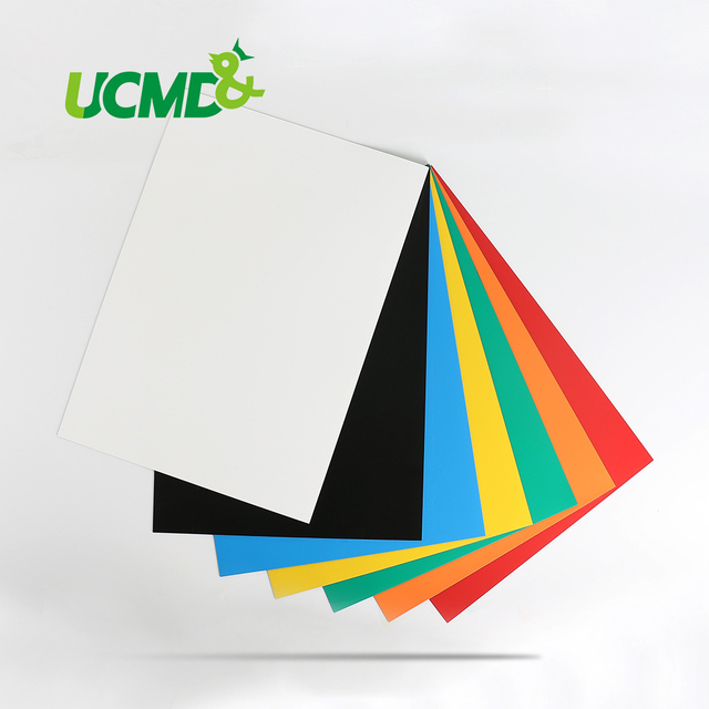 PVC DIY Soft Fridge Magnets Colorful Magnetic Sheets A4 Magnets ...