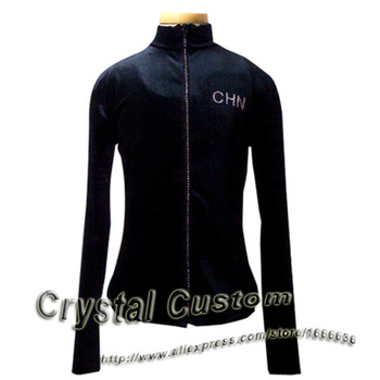 Hot Sales Figure Skating Dress Beautiful New Brand Vogue Figure Skating Jacket For Competition J2013