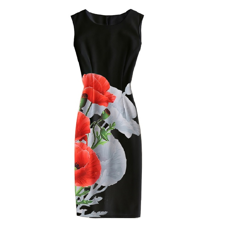 Autumn Women Dresses Zipper O-neck Sexy Knitted Dress Sleeveless Bodycon Sheath Pack Hip Dress Summer Dress vestido de festa женское платье dresses dress women 2015 printsleeveless o summer style women dress