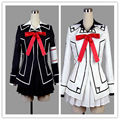 Venta especial vampire knight yuki cross dress cosplay uniforme negro o blanco