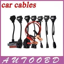 Горячие Продвижение OBD OBD2 полный комплект 8 автомобилей кабели для tcs cdp pro plus Канатной диагностический Инструмент Интерфейс кабель CNP доставка