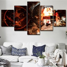 Modular Picture One Set Canvas Print Wall Art 5 Pieces Counter-Strike Global Offensive Game Poster Modern Home Decor Painting