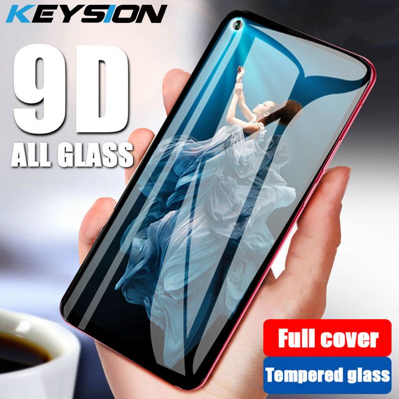 KEYSION 9D Tempered Glass for Huawei Honor 20 Pro 20i 10i V20 Screen Protector Protective Glass