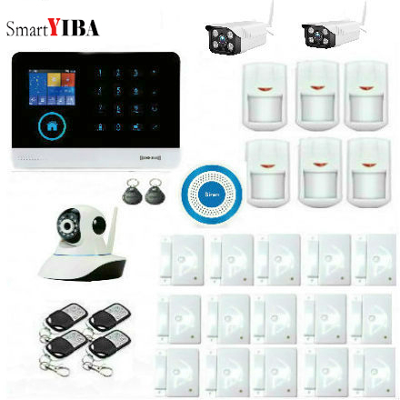 SmartYIBA 3G Alarm Home Apps Control Home Security Alarm System with Outdoor Camera IP Wireless Residential Alarm IOS Android SmartYIBA 3G Alarm Home Apps Control Home Security Alarm System with Outdoor Camera IP Wireless Residential Alarm IOS Android