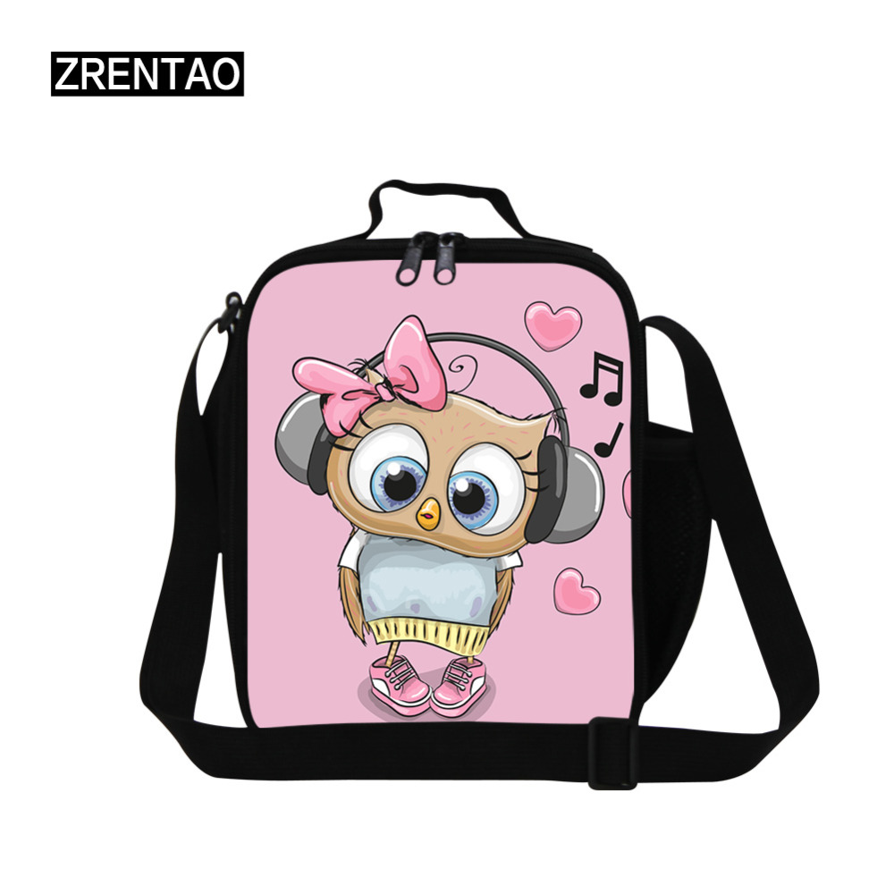 Eco Friendly Pink Lunchbag Bag School Teen Adult Insulated Lunch Box College