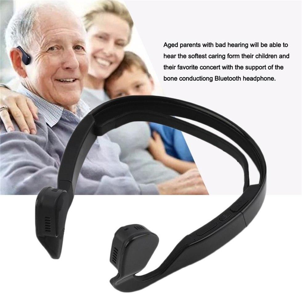 Conduzione ossea Auricolare Bluetooth 4.0 Stereo Senza Fili di Sport Della CuffiaConduzione ossea Auricolare Bluetooth 4.0 Stereo Senza Fili di Sport Della Cuffia