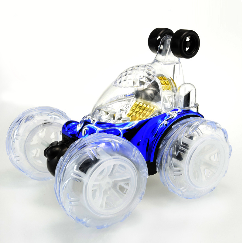 Children's Toy Charging Remote Control Vehicle Special Effects Vehicle With Music Lighting Walkie Talkie
