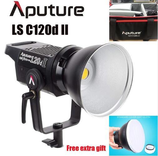 Aputure LS C120d 120D II Luce del Giorno 180 w LED Continua V-Mount Luce Video CRI96 + TLCI97 + Bowens montaggio a Doppia Alimentazione A Distanza