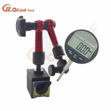 Цифровой индикатор 0-12,7 мм/0,5 ''0,01 с мини магнитным держателем манометр штангенциркуль, измерительные инструменты