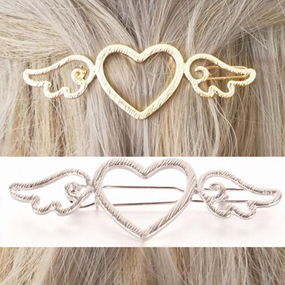 Women Hair Clips Girls Metal Butterfly Barrettes Headwear