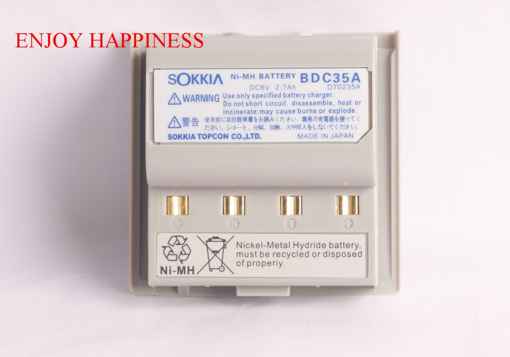 For Sale BDC35A BDC-35 Battery FOR SOKKIA Total Stations for sale replacement nb 25 battery for south nts 360 nts 360r total stations