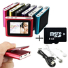 8GB 1.8 Inch screen Clip FM Radio Mp3 Player Support 32GB Micro SD/TF Including Headphone Mini USB Cable
