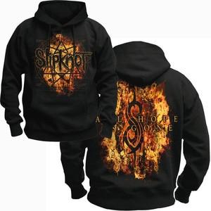 Image 2 - Bloodhoof SLIPKNOT alternative metal black  pullover hoodie Asian Size