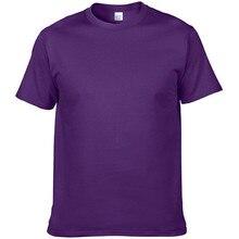 2018 New Solid color T Shirt Mens Black And White 100% cotton T-shirts Summer Skateboard Tee Boy Skate Tshirt Tops(China)