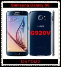 "Samsung Galaxy S6 Original Unlocked GSM 4G LTE Android Mobile Phone G920V Verizon Version Octa Core 5.1"" 16MP RAM 3GB ROM 32GB"