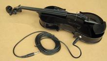 2015 NEW electric violin 4/4 violin handcraft violino Musical Instruments with violin rosin case