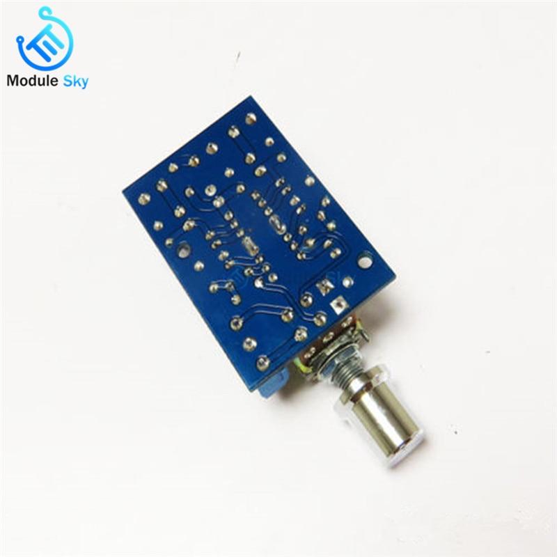 TEA2025B Mini Audio Amplifier Board Dual Stereo 2 0 Channel Amplifier Board  For PC Speaker 3W+3W 5V 9V 12V CAR