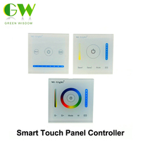 Mi Light Smart Panel Controller Dimming Panel RGB RGBW RGB CCT Color Temperature CCT Led Dimmer