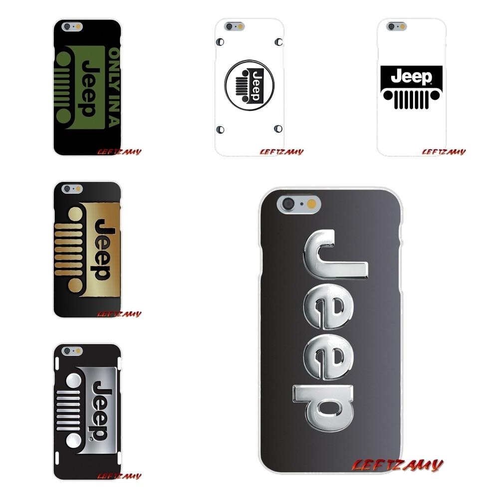 Jeep логотип аксессуары телефон чехлы для sony Xperia M2 M4 M5 E3 XA Aqua Z Z1 Z2 Z3 Z5 компактный <font><b>LG</b></font> K4 7 8 10 <font><b>V20</b></font> V30 2017