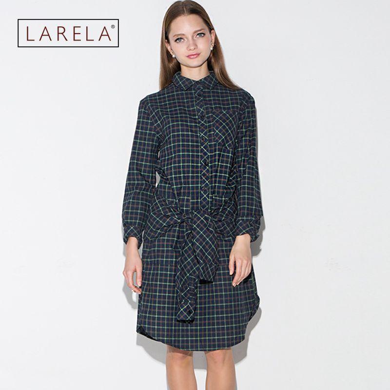 Womens Vintage Dress 1950s Elegant Bow Tie Belted font b Tartan b font Peplum Ruched Tunic