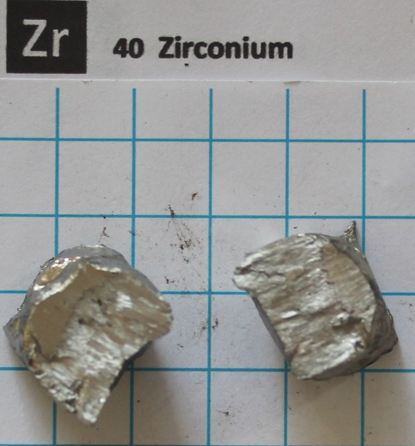 Transition metal 99.9% ~ 10g Zirconium Metal - Element 40 sample transition metal complexes of benzopyran 4 one schiff bases