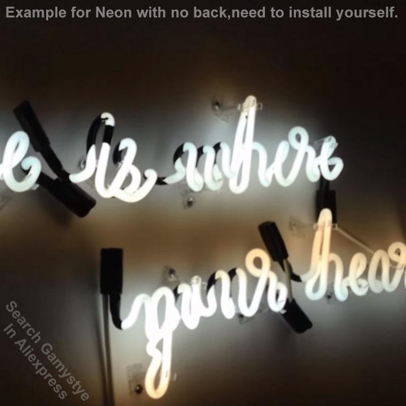 Enseigne au néon pour PACMAN jeu enseigne verre véritable BAR à bière PUB affichage RESTAURANT lumière extérieure signes 17*14