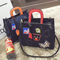 Original brand design Leather bolsas femininas Women bag ladies Pattern Handbag Shoulder Bag Female Tote Sac Bag