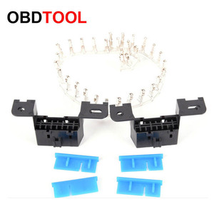 Image 2 - 10pcs 16pin Obd2 Connector OBD 16Pin Female Angle Connector OBD 2 Female Wire Sockets Connector Obd Ii Adapter Diagnostic Tools