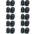 10X channel selector knob + chunky volume knob for Motorola PRO5150 GP328 GP340 GP360 GP380 EP450 EX500 EX600 2-way radio