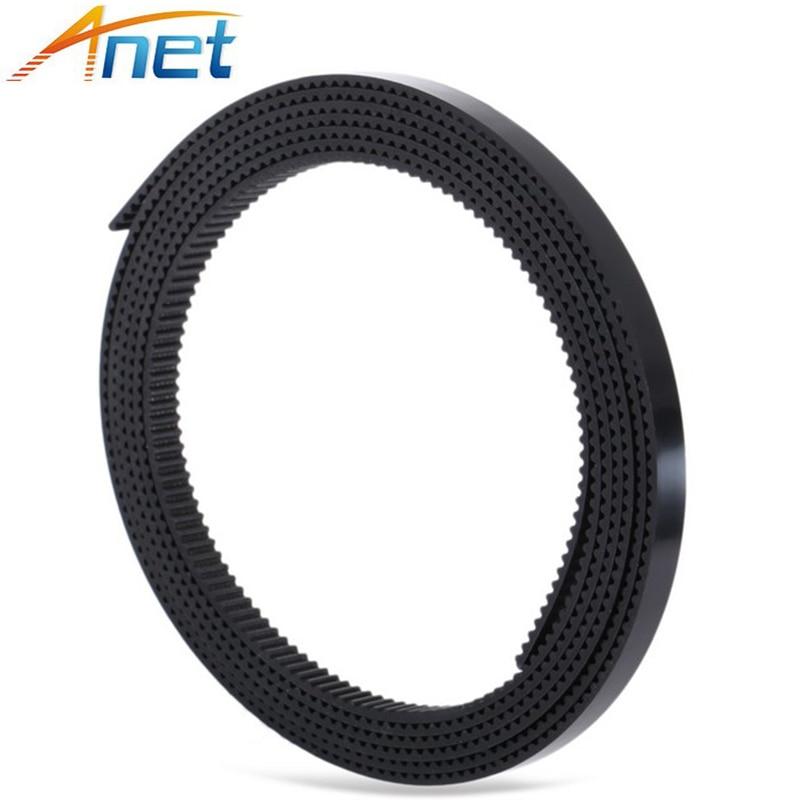 100 Meters 3D Printer Belt Synchronous Toothed Belt Timing Belt Width 6mm GT2 6MM 3D Printer