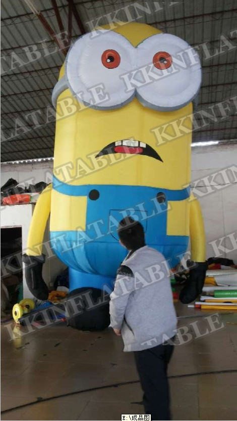 inflatable Minions advertising inflatabel model цена 2016