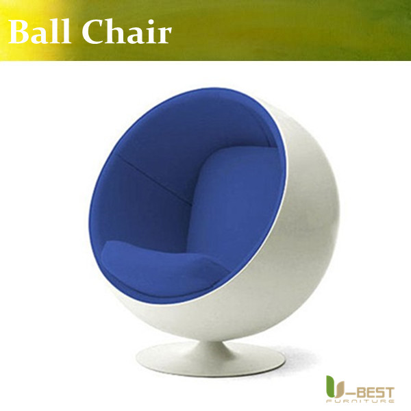 ubest stability ball chair modern deisgner furniture ball chair eero aarnio in fiberglass shell and fabric seating