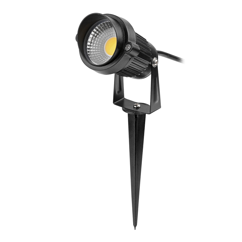 Us 12 07 30 Off Plug 5w Cob Led Lawn Lamp Waterproof Garden Lights Outdoor With Spike Yard Patio Path Spotlight Ac 85 245v Spot In