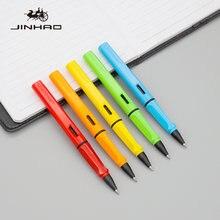 Недорогая Шариковая ручка jinhao 1 шт пластмассовая коррекция