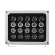 20 Pieces Array Infrared IR Led Light DC 12V High Power Surveillance Camera Illuminator Lamp for Camera Night Vision Waterproof